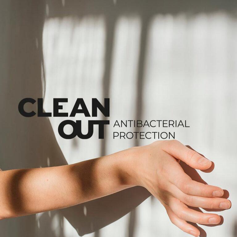 Protecție antibacteriană RAGNO CleanOut ,noua colecție ETERNA .