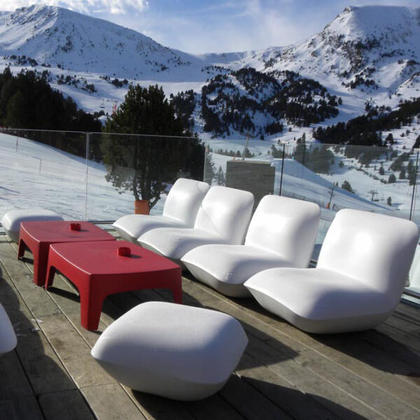 STUDIOCERAMICA design outdoor furniture armchair table stool pillow solid tiba excorchada vondom 3